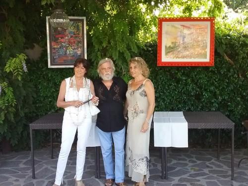 Tanja con Dimitri Salonia e Lidia Monachino